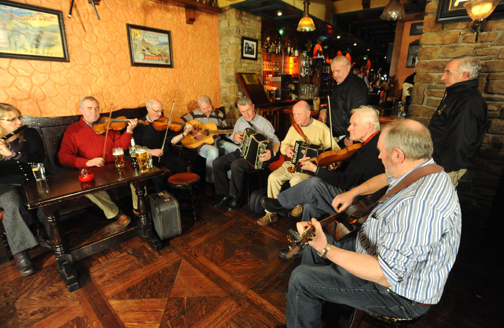 Killarneys Authentic Trad Session @ The Grand